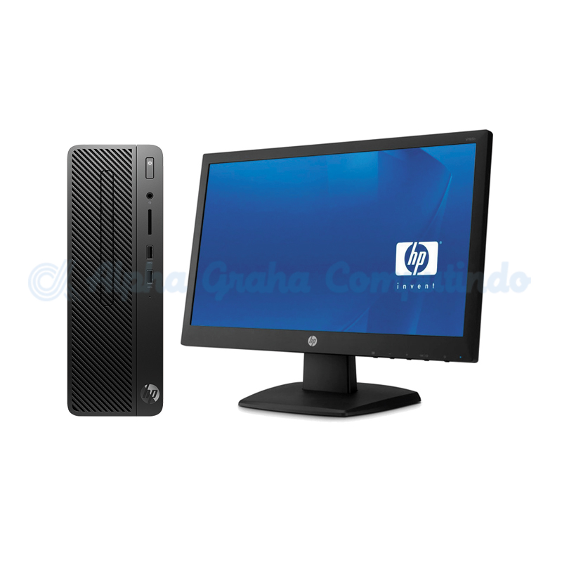 HP 280 G3 SFF i3-9100 4GB 1TB 18.5-inch Monitor Win 10 Home [8AG54PA]