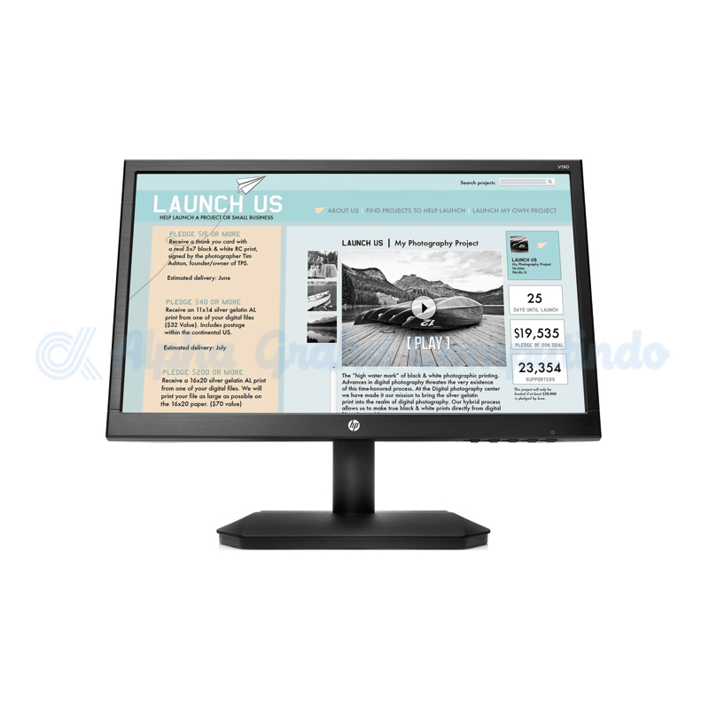 HP  V190 18.5-inch LED Backlit Monitor [2NK17AA]