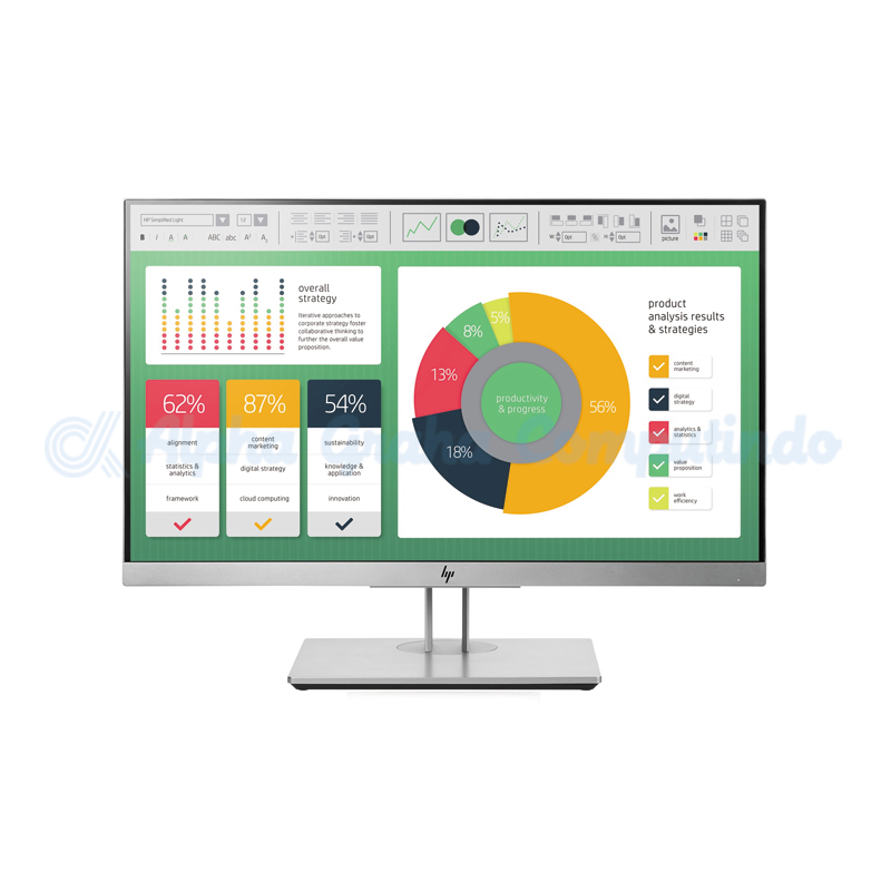 HP  EliteDisplay E223 21.5-inch Monitor [1FH45AA]