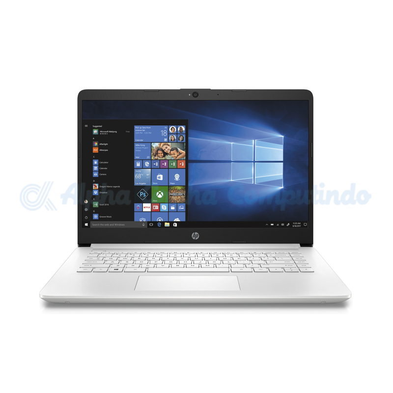 HP  Notebook 14s-cf0048tx i5-8250U 4GB 1TB Radeon 530 14.0-inch [4QM70PA/Win10] Snow White