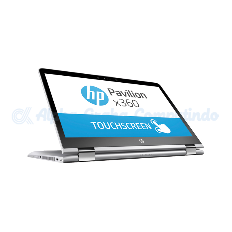 HP  Pavilion x360 14-cd0043tx i3-8130U 4GB 1TB NVIDIA MX130 14.0-inch [4LD53PA/Win10] Natural Silver