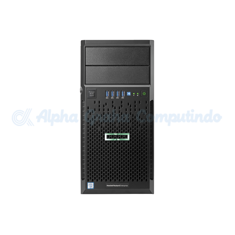 HPE  ProLiant ML30 Gen9 Xeon E3-1220v6 8GB 1TB 3/1/1 Years + MS WS16 (16-Core) Std ROK en SW