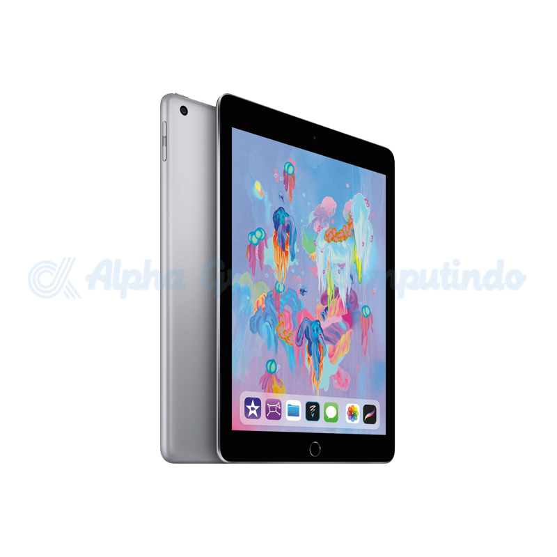 APPLE  iPad 6th Gen 9.7 Wifi 128GB Space Gray [MR7J2PA/A]
