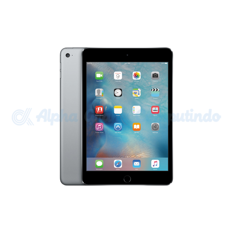 APPLE  iPad Mini 4 Wifi + Cell 128GB Space Gray [MK762PA/A]