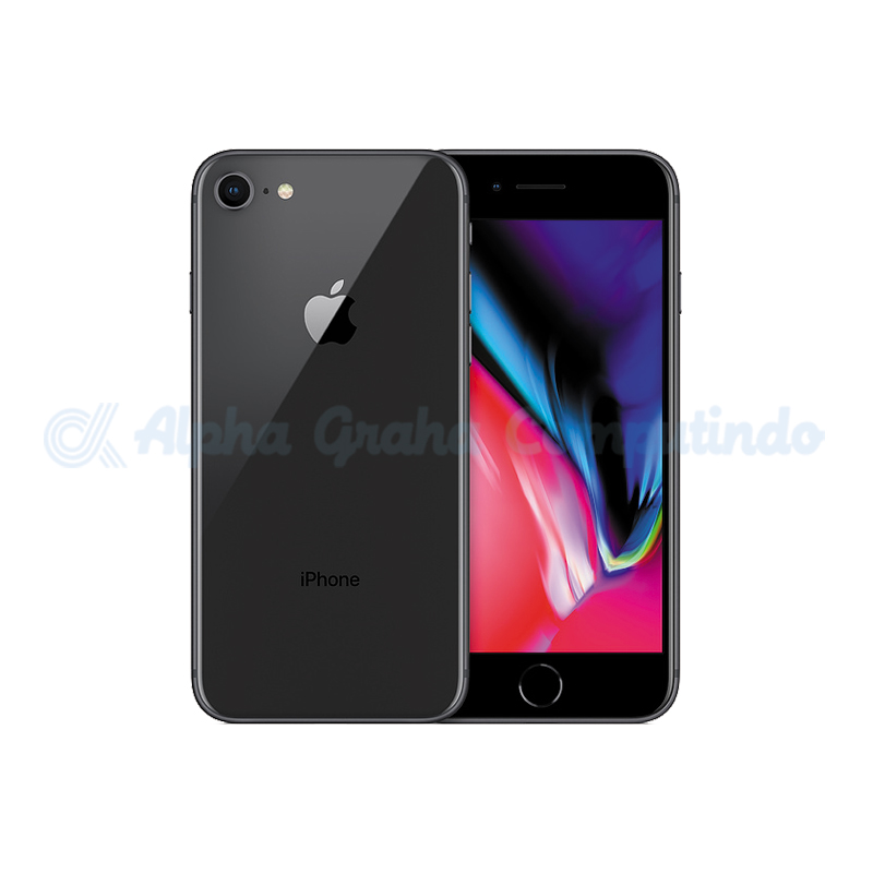 APPLE  iPhone 8 256GB Space Gray [MQ7C2PA/A]
