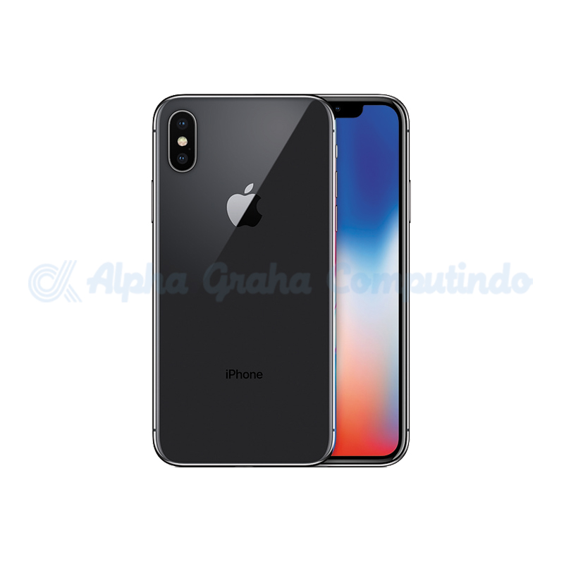 APPLE  iPhone X 64GB Space Gray [MQAC2PA/A]
