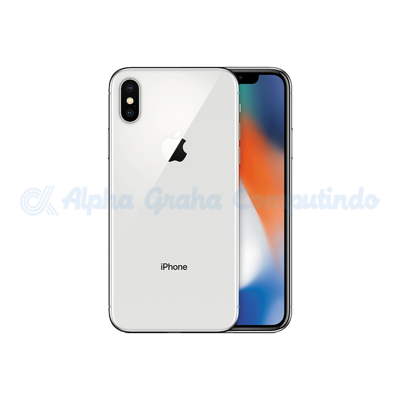 APPLE  iPhone X 64GB Silver [MQAD2PA/A]