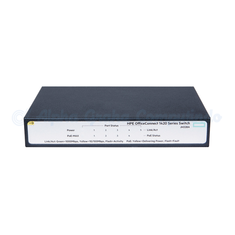 HPE 1420 5G PoE+ (32W) Switch [JH328A]