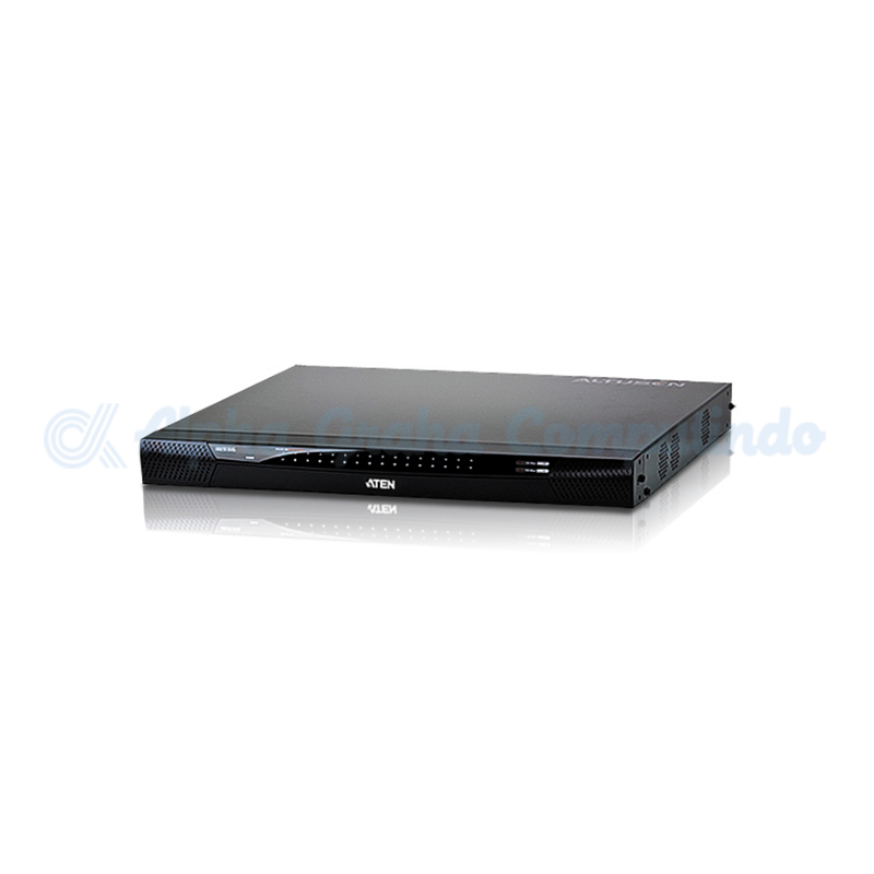 ATEN 1-Local/2-Remote Access 32-Port Cat 5 KVM over IP Switch with Virtual Media (1600 x 1200) [KN2132V]