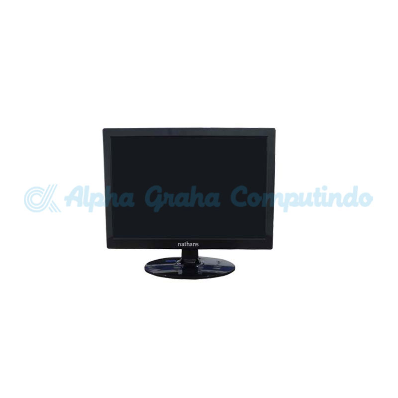 NATHANS  LED Monitor 15.6-Inch Slim Wide