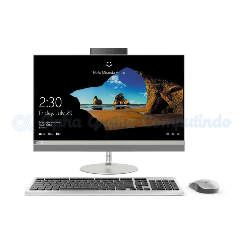 Lenovo IdeaCentre AIO 520-22ICB 21.5-inch i5-8400T 8GB 2TB Win10 Gray