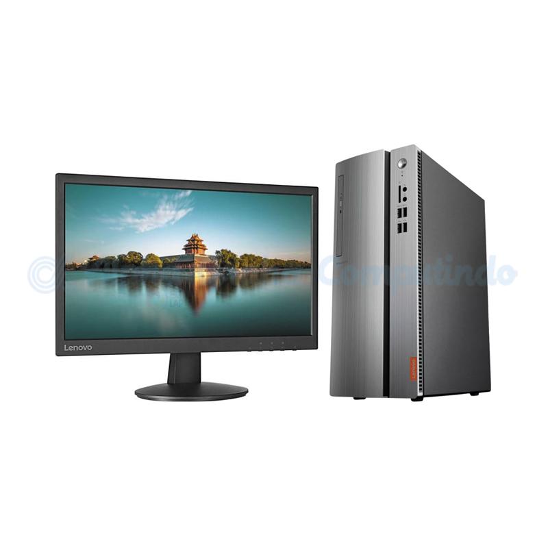 Lenovo  IdeaCentre IC510-15IKL i7-7700 8GB 2TB RX550 21.5-inch Monitor [90G800K4ID/DOS]