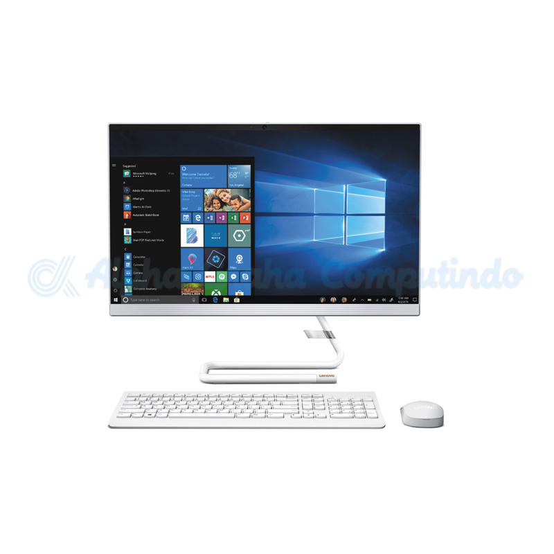 Lenovo IdeaCentre A340-24ICB i5-9400T 4GB 1TB R530 Win10 23.8-inch Touch White [F0E6008CID]