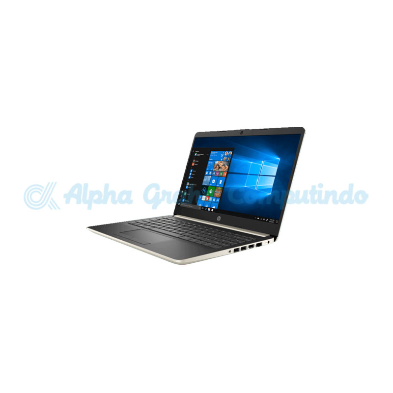 HP Notebook 14s-dk0076AU Ryzen5 3500U 8GB 512GB SSD [6XA61PA/Win10] Gold