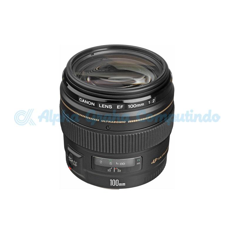 Canon  Lens EF 100mm f2.0 USM