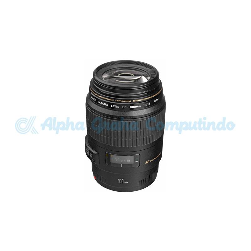 Canon  Lens EF 100mm f2.8 Macro LISU
