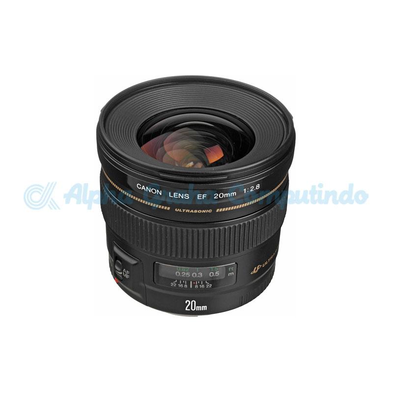 Canon  Lens EF 20mm f2.8 USM