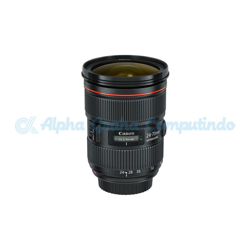 Canon  Lens EF-24-70mm f/2.8 L II USM