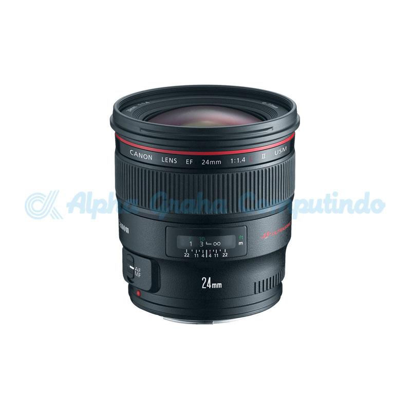 Canon  Lens EF 24mm F1.4LII USM