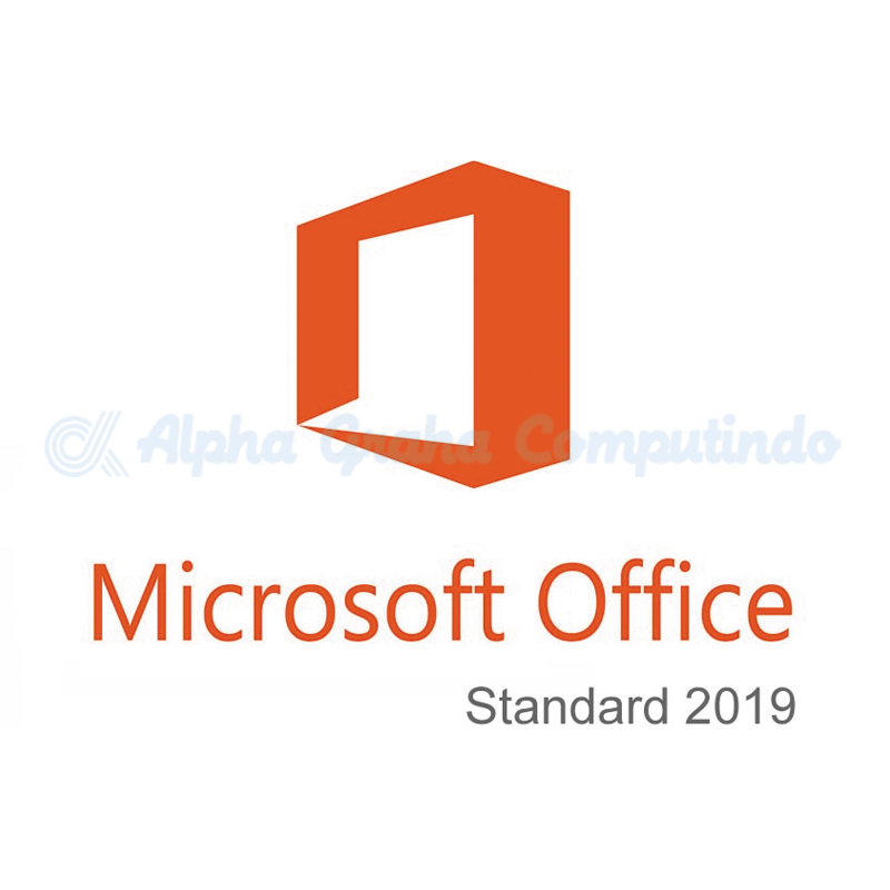 Microsoft    [Office Standard]OfficeStd 2019 SNGL OLP NL Acdmc [021-10597]