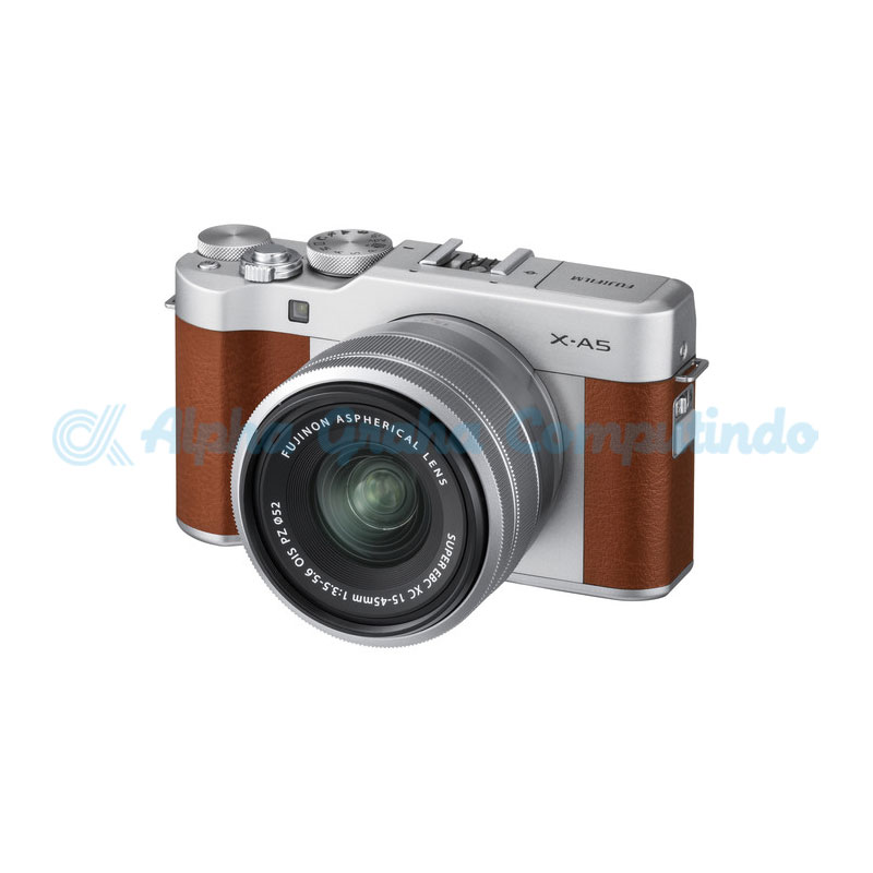 FUJIFILM  Mirrorless X-A5 Kit 15-45mm Brown