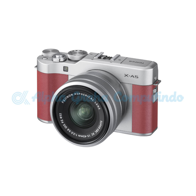 FUJIFILM  Mirrorless X-A5 Kit 15-45mm Pink