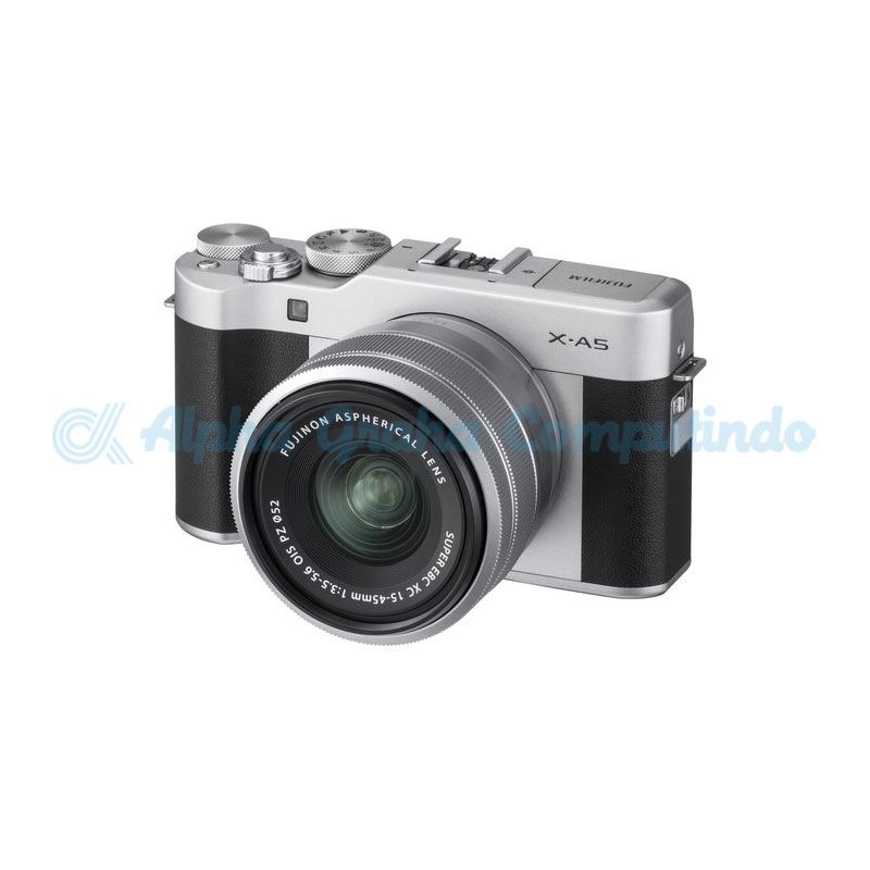 FUJIFILM    Mirrorless X-A5 Kit 15-45mm Silver