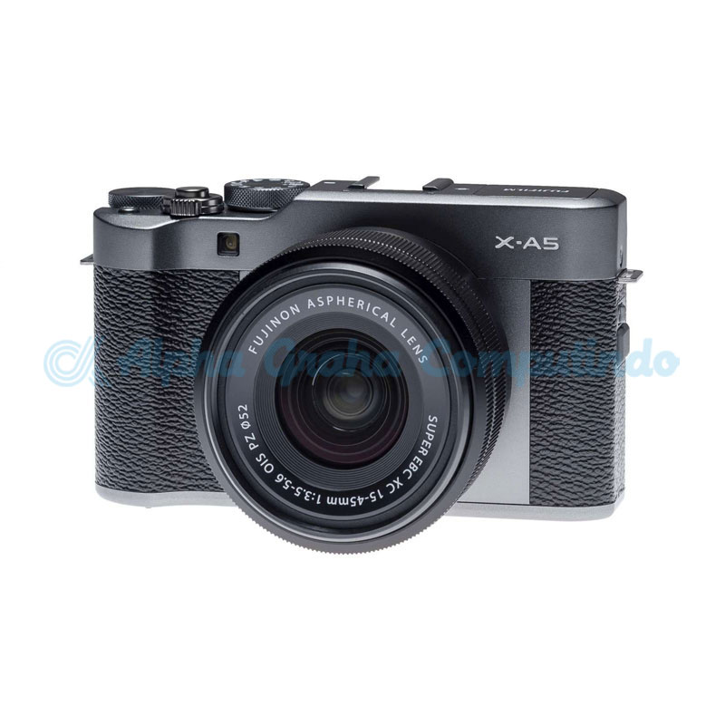 FUJIFILM  Mirrorless X-A5 Kit 15-45mm Dark Silver