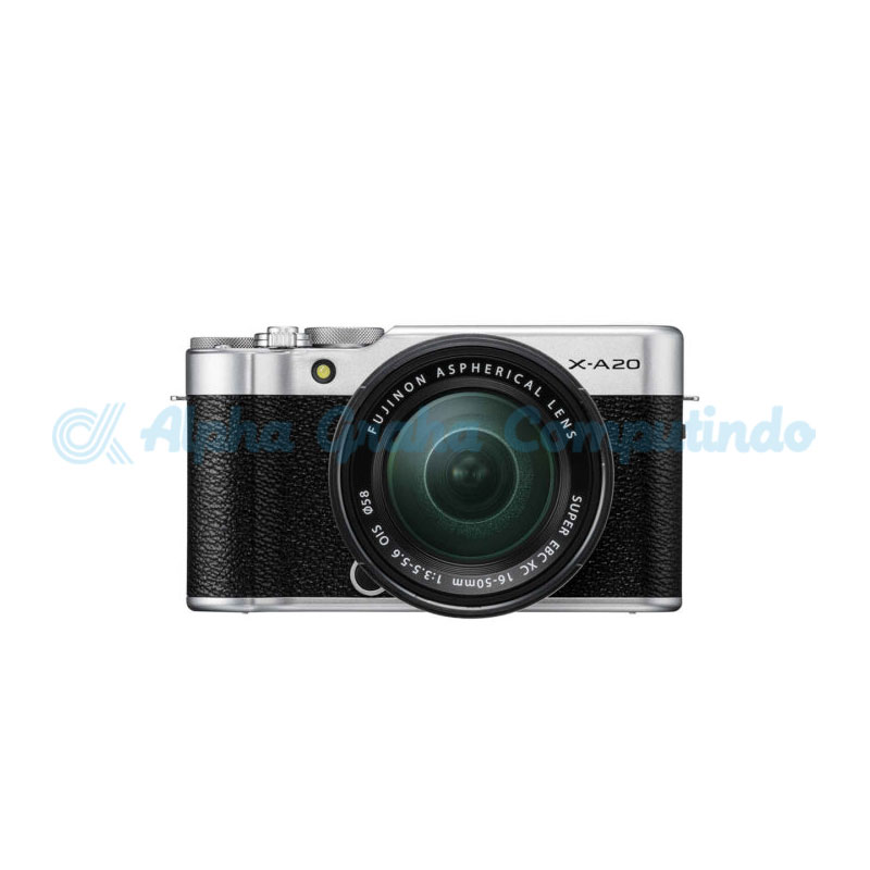 FUJIFILM  Mirrorless X-A20 Kit XC 15-45mm