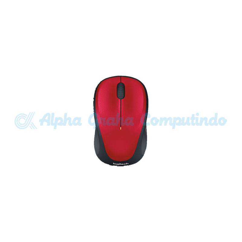 Logitech  Wireless Mouse M235 Red [910-003412]