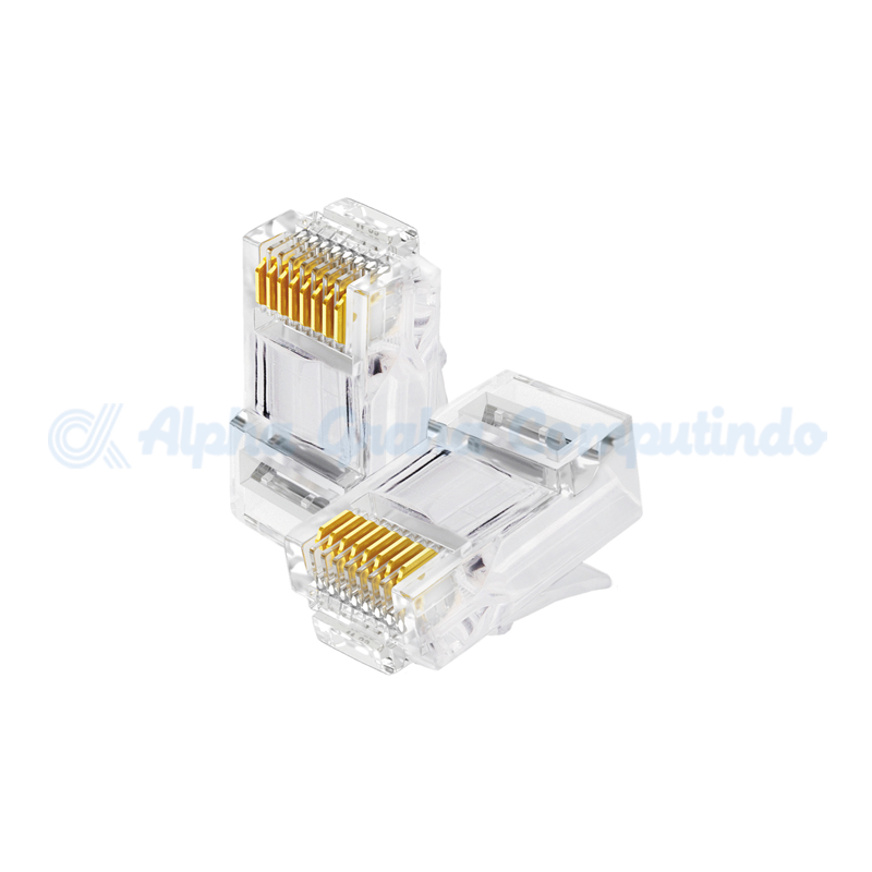 D-link   RJ-45 Cat6 FTP/STP 8P8C Shielded Plugs 100pcs [NPG-C62STL032-100]