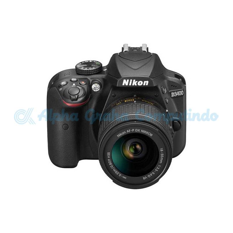 NIKON  D3400 Camera kit AF-P DX 18-55mm f/3.5-5.6G VR