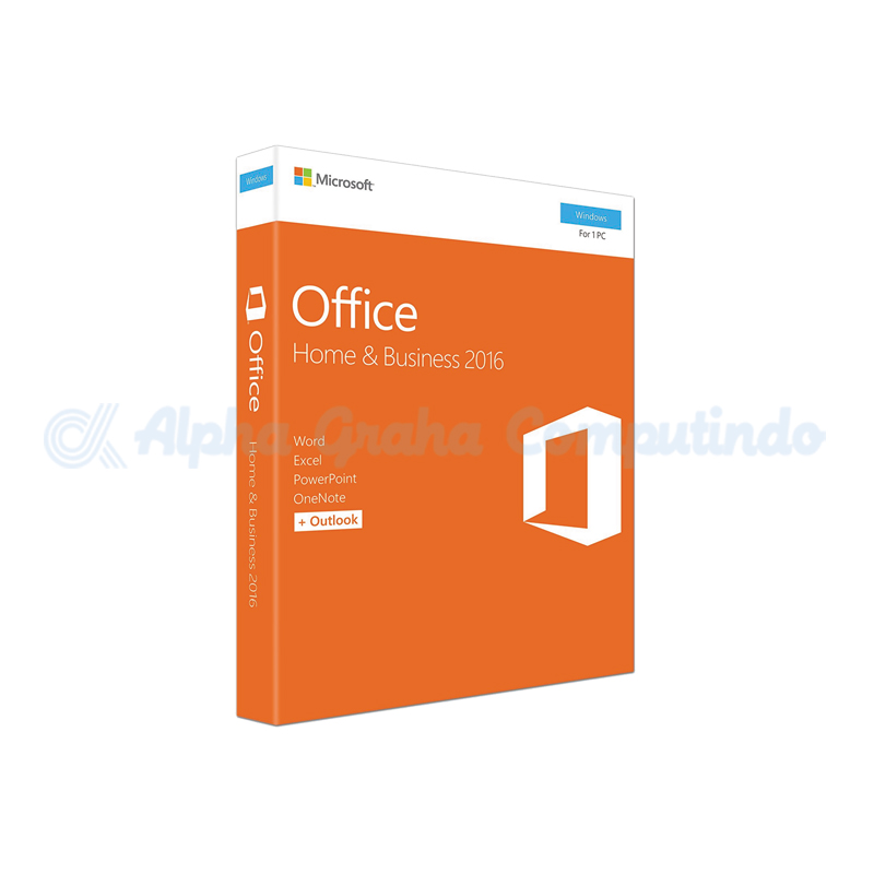 Microsoft Office Home and Business 2016 [T5D-02695]
