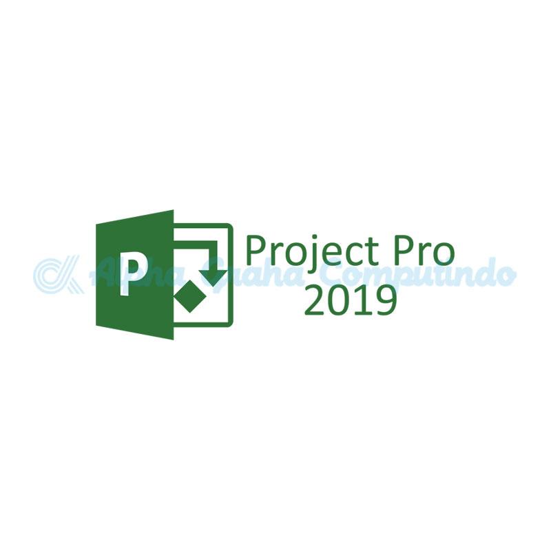 Microsoft  [Project Professional]PrjctPro 2019 OLP NL Gov w1PrjctSvrCAL[Pemerintah]
