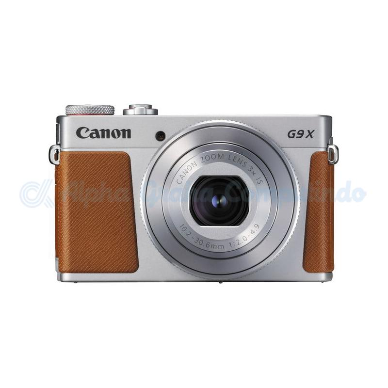 Canon   PowerShot G9X Silver Mark II