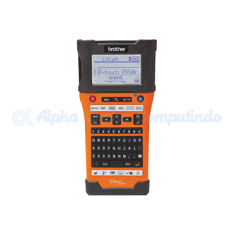 BROTHER  P-Touch Handheld Label Printer [PT-E550WVP]