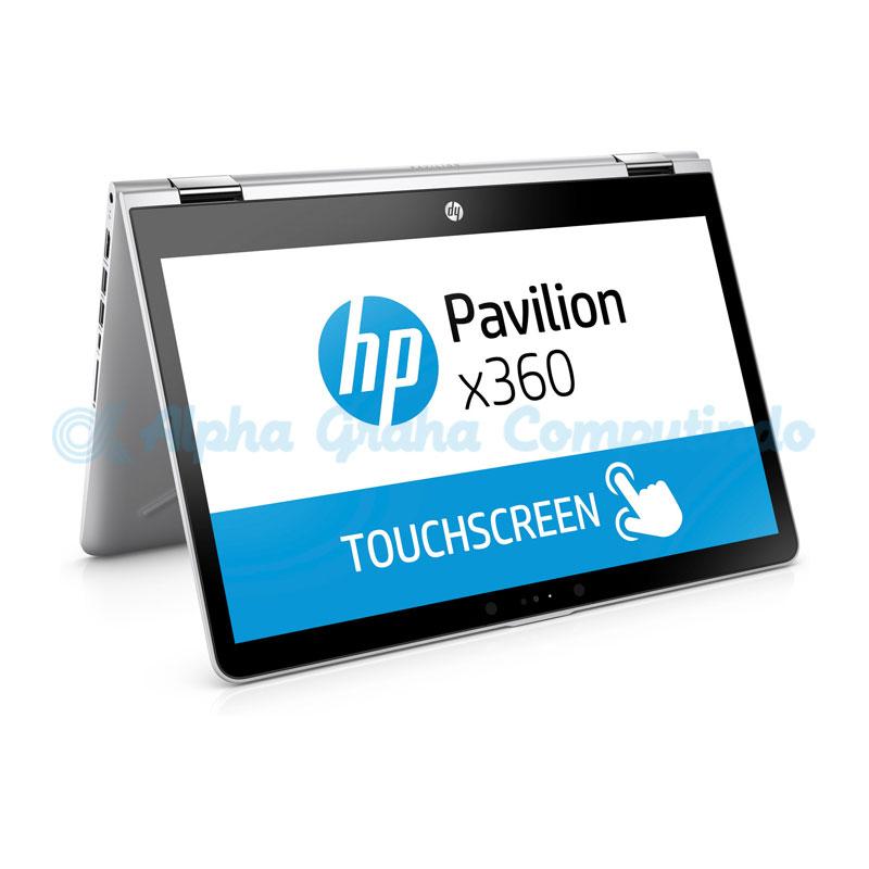 HP Pavilion x360 Convertible 14-ba164TX i7 8GB 128GB+1TB [3PT37PA/Win10HE] Silver