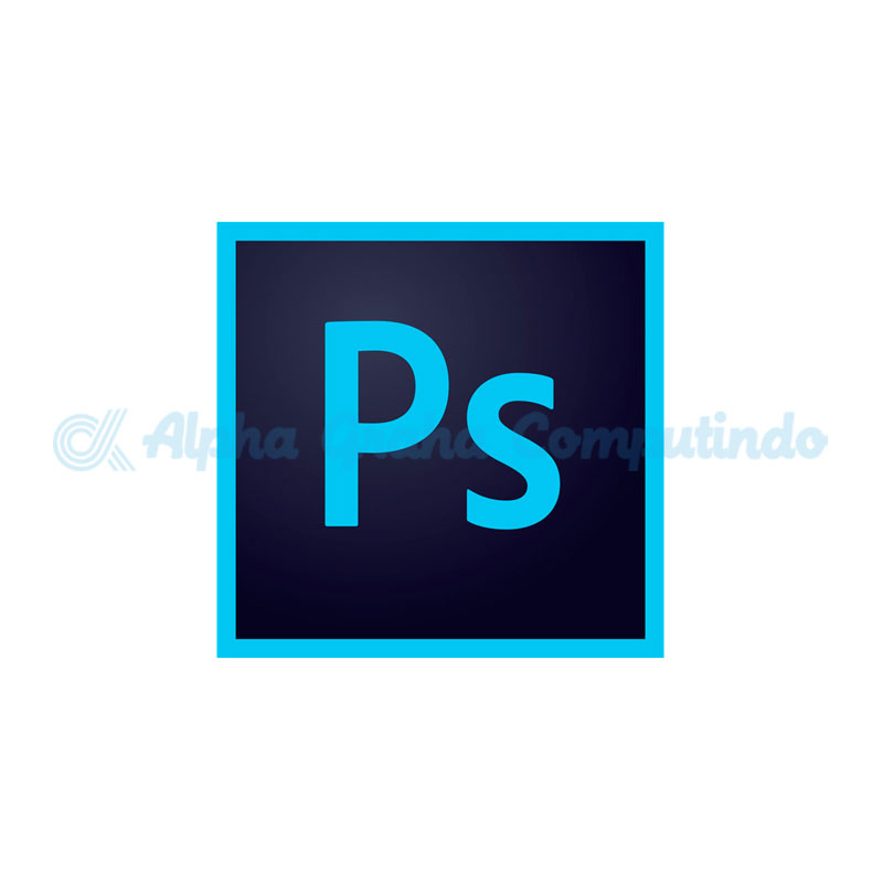 Adobe  Photoshop CC for teams Multiple Platforms - GOV - 1 Year Subscription Level 1 [65297618BC01A12]