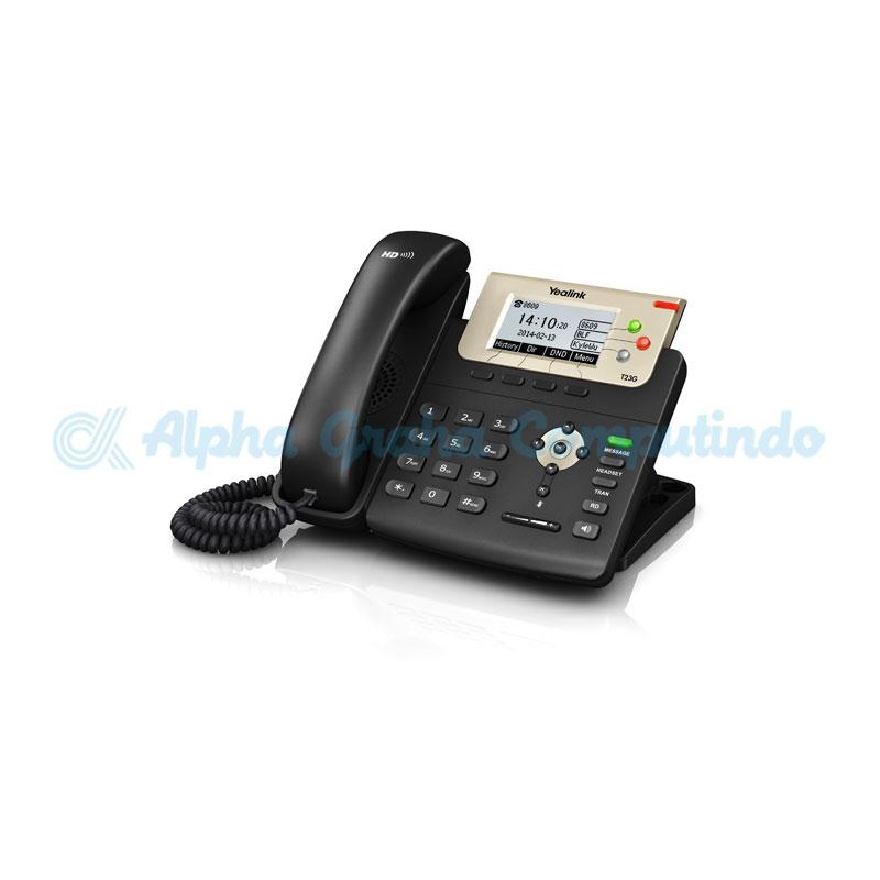 YEALINK  Professional Gigabit IP Phone SIP-T23G