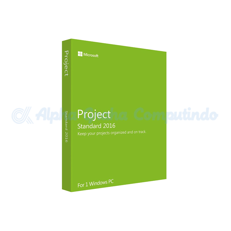 Microsoft Project 2016 [076-05530]