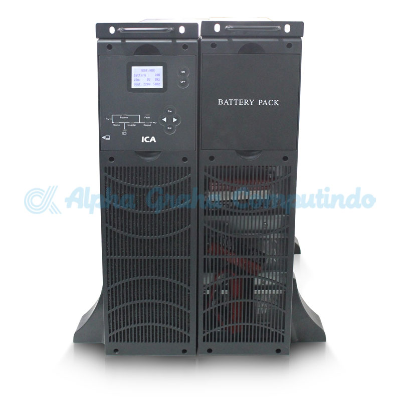 ICA    UPS On Line Sinewave UPS RN Series Capacity 10 KVA (RN 1102C11)