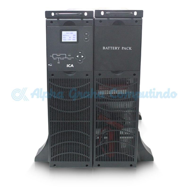 ICA    UPS On Line Sinewave UPS RN Series Capacity 6000 VA (RN 6100C)
