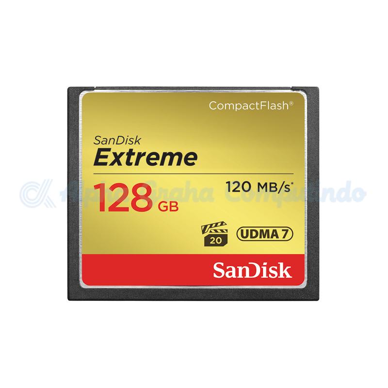 Sandisk Extreme CompactFlash 128GB [SDCFXSB-128G-G46]