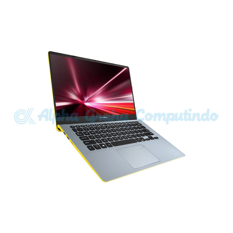 Asus VivoBook S430FN-EB523T i5-8265U 8GB 1TB+256GB MX150 2GB [Win10] SilverBLue Yellow