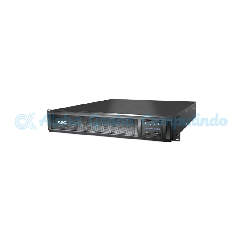 APC Smart-UPS X 1500VA Rack/Tower LCD 230V [SMX1500RMI2U]