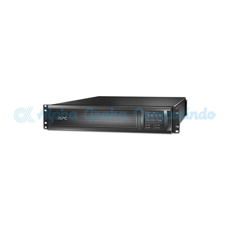 APC Smart-UPS X 2200VA Rack/Tower LCD 200-240V with Network Card [SMX2200R2HVNC]