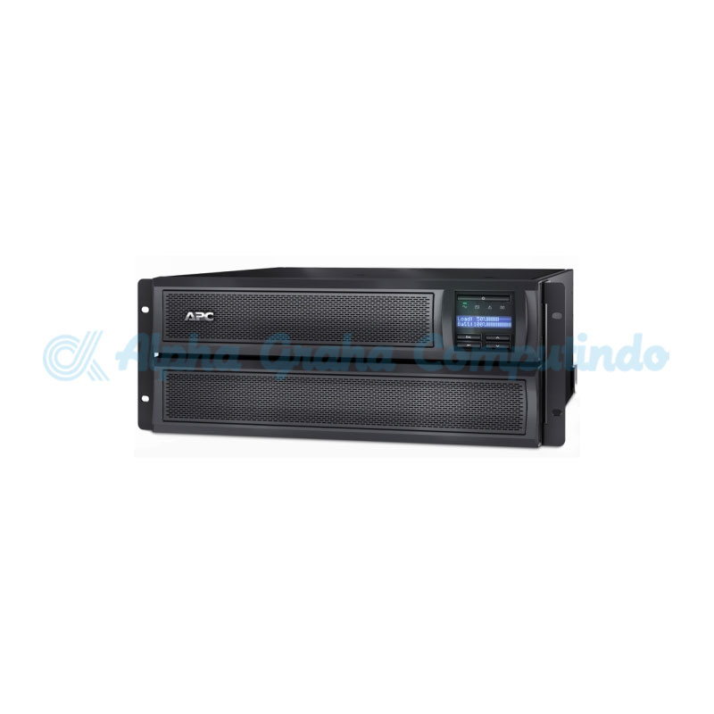 APC Smart-UPS X 3000VA Short Depth Tower/Rack Convertible LCD 200-240V with Network Card [SMX3000HVNC]