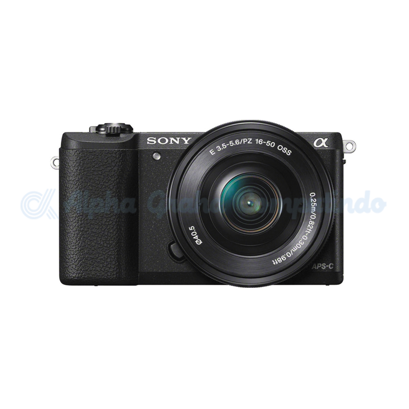 Sony  Alpha a5100 Mirrorless Digital Camera with 16-50mm Lens - Black [ILCE-5100L]
