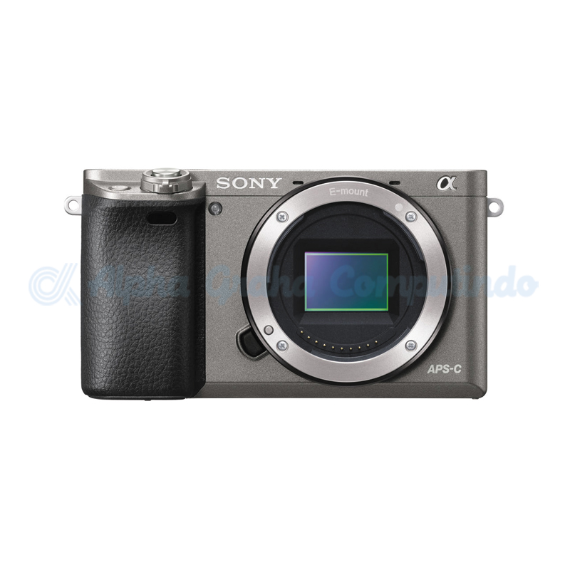 Sony  Alpha a6000 Mirrorless Digital Camera (Body Only) - Grey [ILCE-6000]