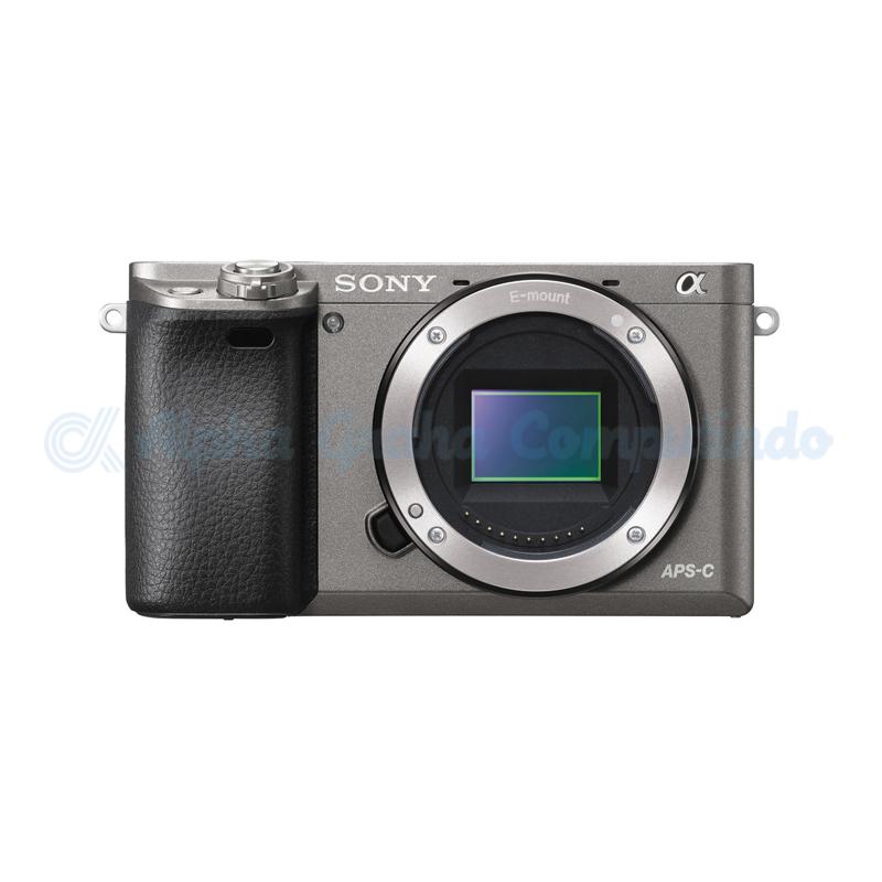 Sony   Alpha a6000 Mirrorless Digital Camera (Body Only) - Grey [ILCE-6000]